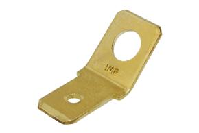 Nýtovací konektor 6,3mm - 45°