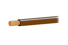 Autokabel 0,75mm2 hnědý
