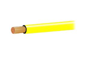 Autokabel 1,5mm2 žlutý