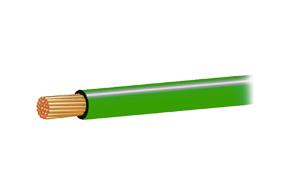 Autokabel 1,0mm2 zelený