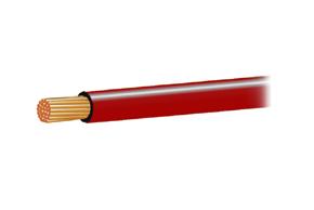 Autokabel 1,0mm2 rudý