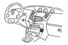 Konzole pro mobilní telefon Nissan Primera