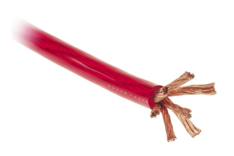 Napájecí kabel 35mm² - rudý