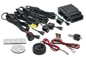 BENE401 Parkovací senzory 4 čidla, piezo bzučák