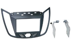 Rámeček 2DIN autorádia Ford C-max (10->) - šedá