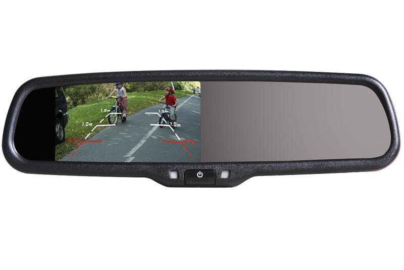 AK-043LA monitor v zrcátku Honda, Mitsubishi, Suzuki