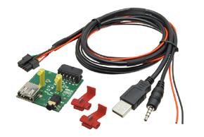 Adaptér pro USB konektor SsangYong Actyon (12->)