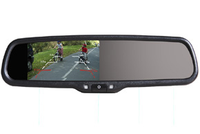 AK-043LA monitor v zrcátku Subaru Legacy / Outback