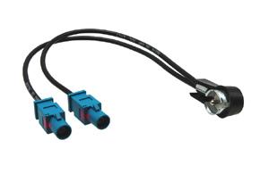 Anténní adaptér 2x FAKRA - ISO