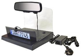 Demonstrační panel zrcátko + kamera