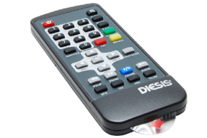 Dálkový ovladač pro DVB-T MT-1