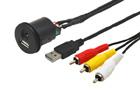 USB / JACK 4pól. prodlužovací kabel