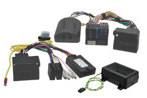 Adaptér pro ovládání na volantu BMW s OEM park.čidly