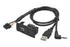 USB+JACK konektor Mercedes Vito (15->)