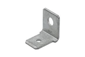 Nýtovací konektor 6,3mm / 90° / 3,2mm