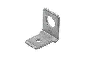 Nýtovací konektor 6,3mm / 90° / 4,2mm
