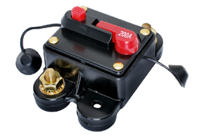 Elektronický jistič 200A