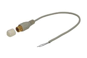 CINCH konektor samice s kabelem