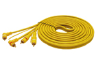 Signálový kabel 2x RCA 500cm
