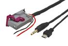 AUX a micro USB adaptér Audi