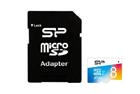 Paměťová karta Silicon Power 8GB  + adaptér SD