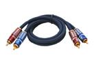 Signálový kabel 2x RCA 50cm