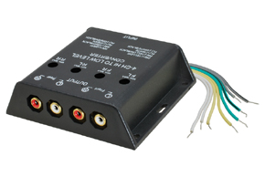 4-kanálový adaptér úrovně