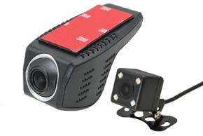DVR kamera univerzální přední + zadní