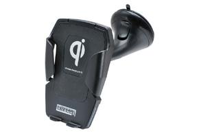 QI univerzální držák s nabíječkou