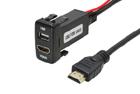 HDMI / USB konektor Toyota