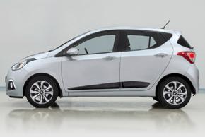 Boční ochranné lišty Hyundai i10