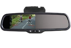 AK-043LA monitor v zrcátku  Nissan, Renault,